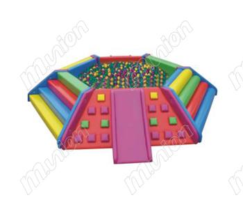 多功能六角形球池HL65009