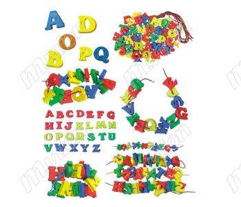 字母串线积木HL67120