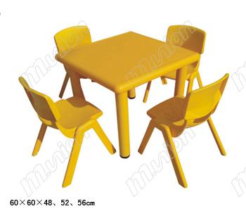 幼儿塑料桌椅 HL61005