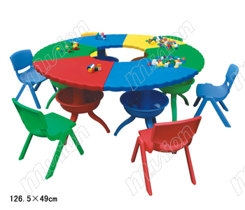 幼儿园用的桌椅 HL61009