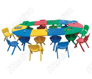 幼儿塑料桌椅 HL61011