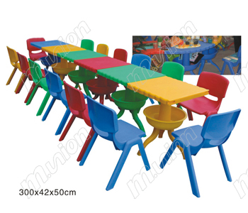 幼儿塑料桌 HL61013