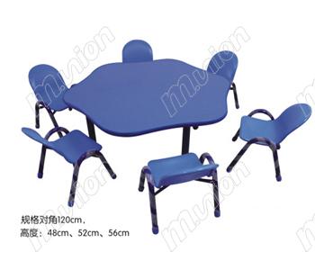 幼儿花边型桌椅 HL61020