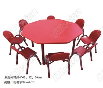 幼儿八人桌椅 HL61022