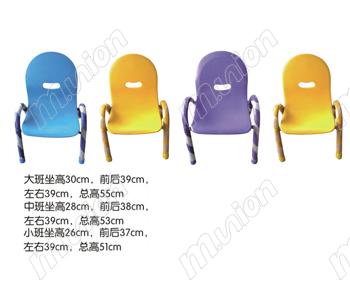 幼儿园塑料椅子 HL61024
