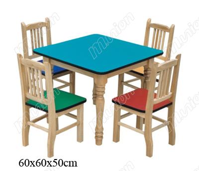 木质幼儿桌椅 HL61035