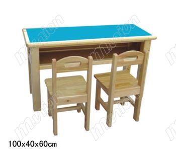 幼儿园木质桌椅 HL61040