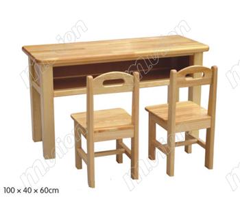 幼儿木质桌 HL61046