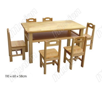 木质桌椅 HL61047