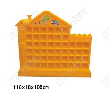 彩虹房口杯架(48格) HL63001