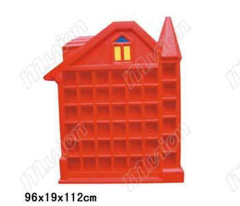 塑料房子口杯架HL63005