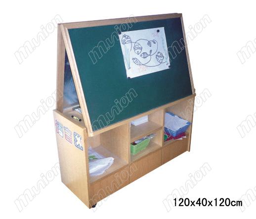 多功能黑板玩具柜HL63110