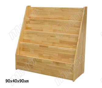 原木图书柜HL63301