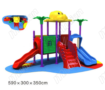 幼儿园游乐滑梯 HL81026