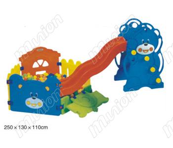 幼儿球池组合滑梯 HL82013